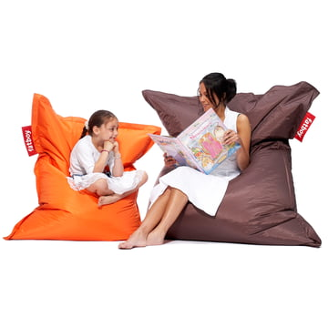 Original and Junior beanbag by Fatboy