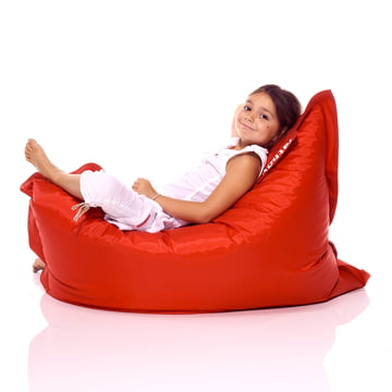 Junior beanbag by Fatboy in red