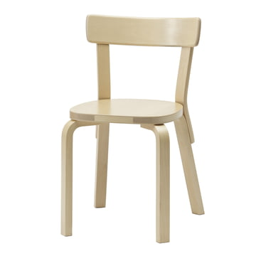 Artek - Chair 69, Birch wood, without cushion