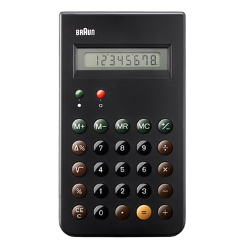 Braun, Calculator BNE001BK - Front
