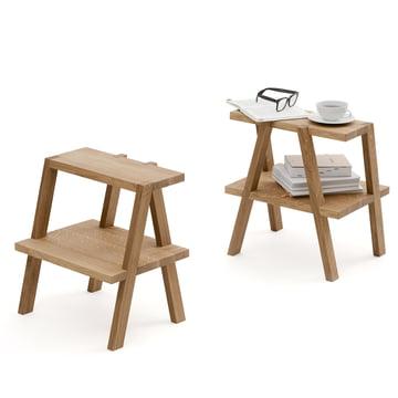 Auerberg - AEKI Stool, oak wood - pair