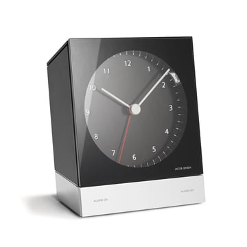 Jacob Jensen - Alarm Clock Series Quartz 341, black