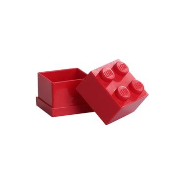Lego - Mini-Box 4, red - open