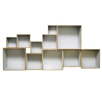 OK Design - Babushka Boxes, grey - front