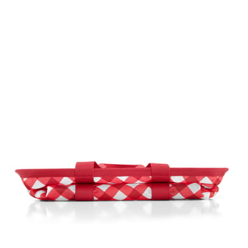 reisenthel - mini maxi basket, square red - folded