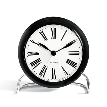 Rosendahl - AJ Roman Table Clock with Alarm