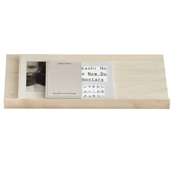 String - Magazine Shelf , birch wood