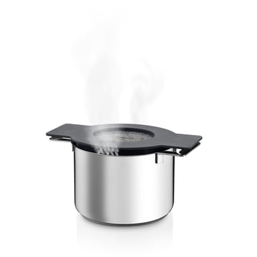 Eva Solo - Gravity Pot, 3.2 l, grey, with steam
