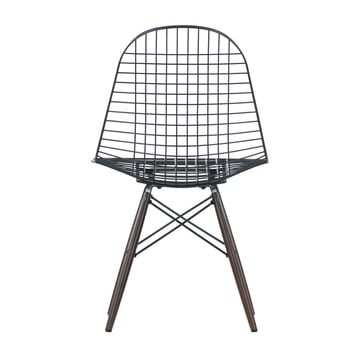 Vitra - Wire Chair DKW, dark maple wood - backside