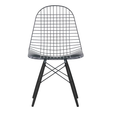 Vitra - Wire Chair DKW, maple black - Front