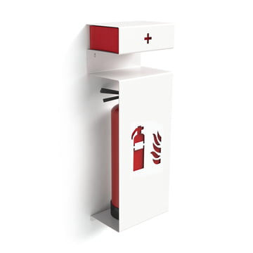 Konstantin Slawinski - Fire extinguisher holder - inclined