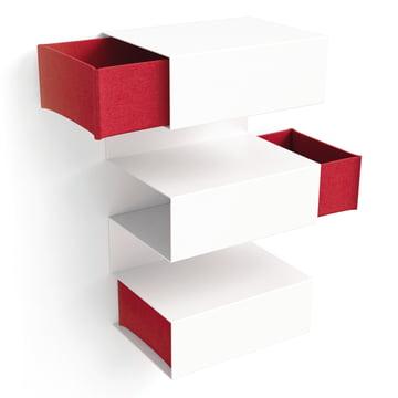 Konstantin Slawinski - Lombard, red - opened felt drawers