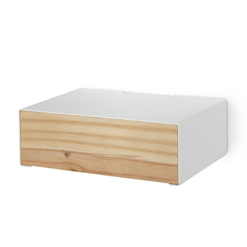 Lessing - Drawer box, white