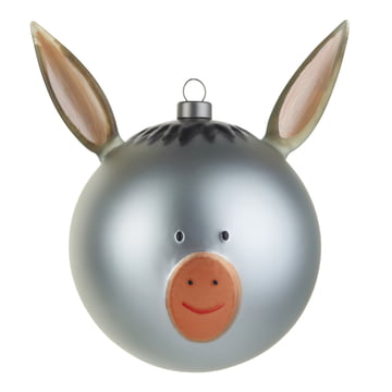 Asinello Christmas Bauble by A di Alessi