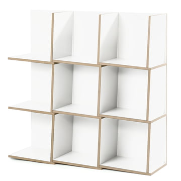 Jonas Jonas - Tri module shelf, white