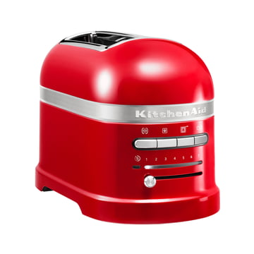 KitchenAid - Artisan Toaster 5KMT2204E, 2 slices, empire red