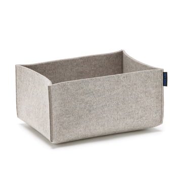 Hey Sign - box rectangular, grey mottled
