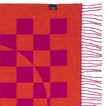 Vitra - Girard Wool Blanket Double Heart - Details