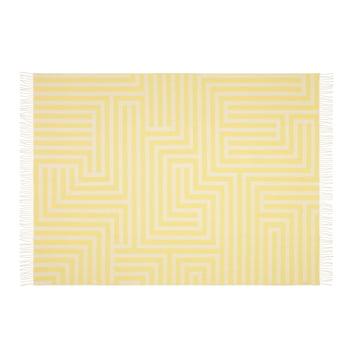Vitra - Girard Wool Blanket , Maze Pattern - front