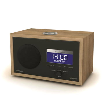 Tivoli Audio - Albergo+, graphite - walnut cabinet