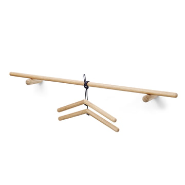 Skagerak - Georg Coat Rack with clothes hanger, oak wood