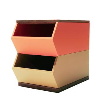The Hansen Family - Container Set, orange / yellow