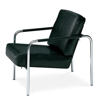 Zanotta - Susanna Armchair, black leather