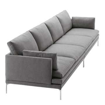 Zanotta - William Sofa, grey - 4 seats