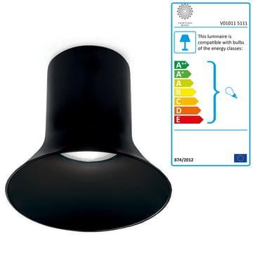 Vertigo Bird - Sax 200 Ceiling lamp, black