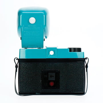 Lomography - Diana F+, with flash - backside