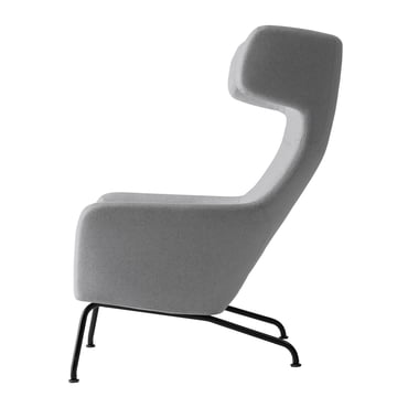 Softline - Havanna Armchair, light grey - side