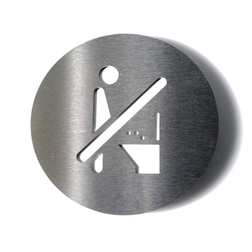 Pictogram No Toilet by Radius Design