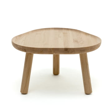 The Karimoku New Standard - Soft Triangle coffee table in natural