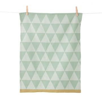 Ferm Living - Mountain Tea Towel, 70x50, mint