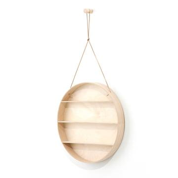 Ferm Living - The Round Dorm, hanging shelf