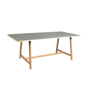 Hay - Frame Table, ash / grey