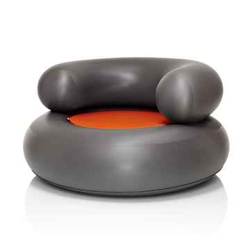 Fatboy - Ch-air, anthracite - orange cushion