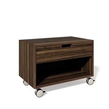 Müller Möbelwerkstätten - Bedside table Modular, walnut