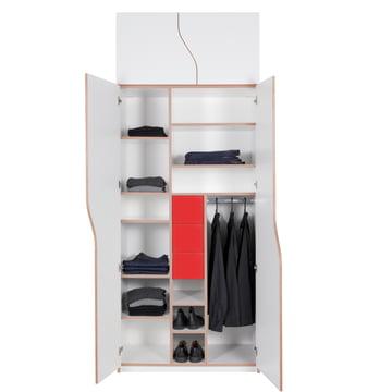 Müller Möbelwerkstätten - Plane wardrobe, open