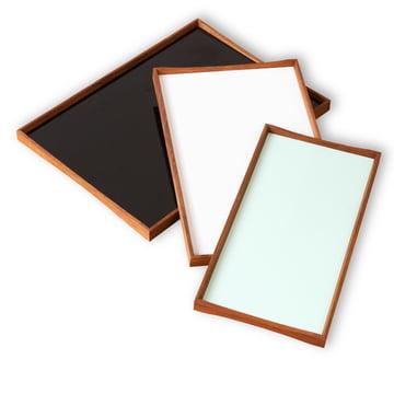 ArchitectMade - tray turning tray, black, white, green
