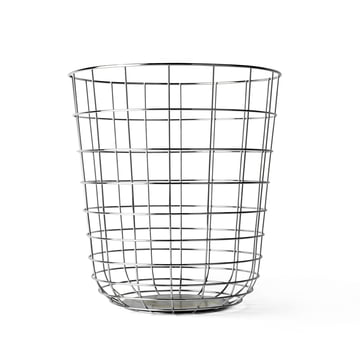 Menu - Wire Bin, Chrome
