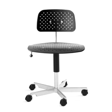 Engelbrechts - Kevi Air Swivel Chair, black