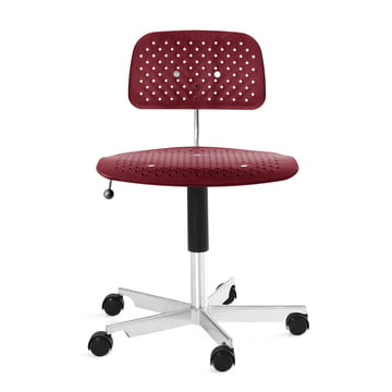 Engelbrechts - Kevi Air Swivel Chair, red