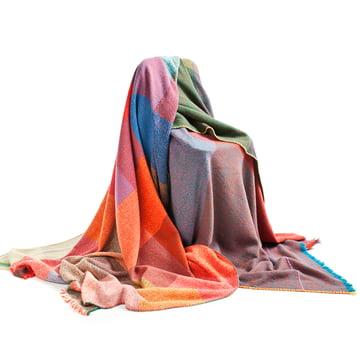 Zuzunaga - Squares Woollen Blanket - group