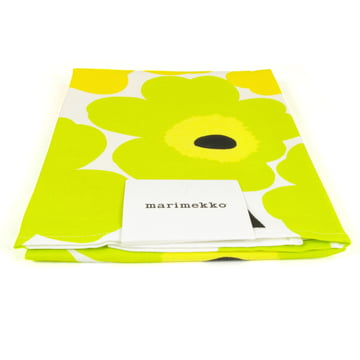 Marimekko - Unikko Tea Towel, lime