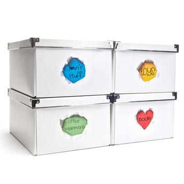 Peleg Design - Greeting Stickers - on storage box