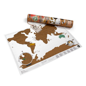 Luckies - Scratch-Map Travel Edition - with package