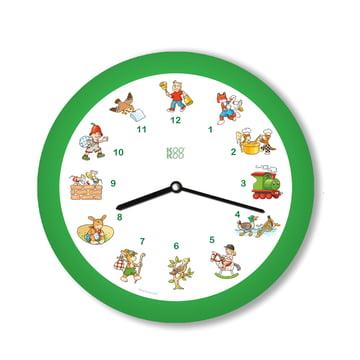 KooKoo - Children's Songs Wall Clock, green