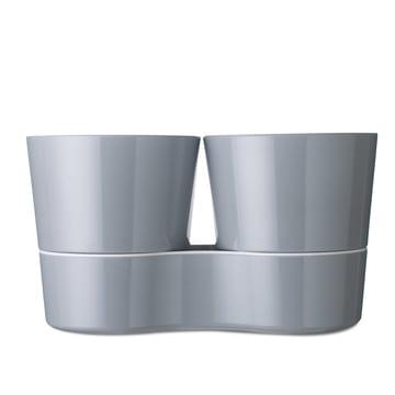 Rosti Mepal - Hydro Herb Pot Twin, grey