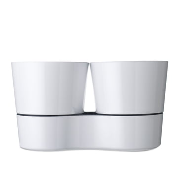 Rosti Mepal - Herb Pot Twin, white